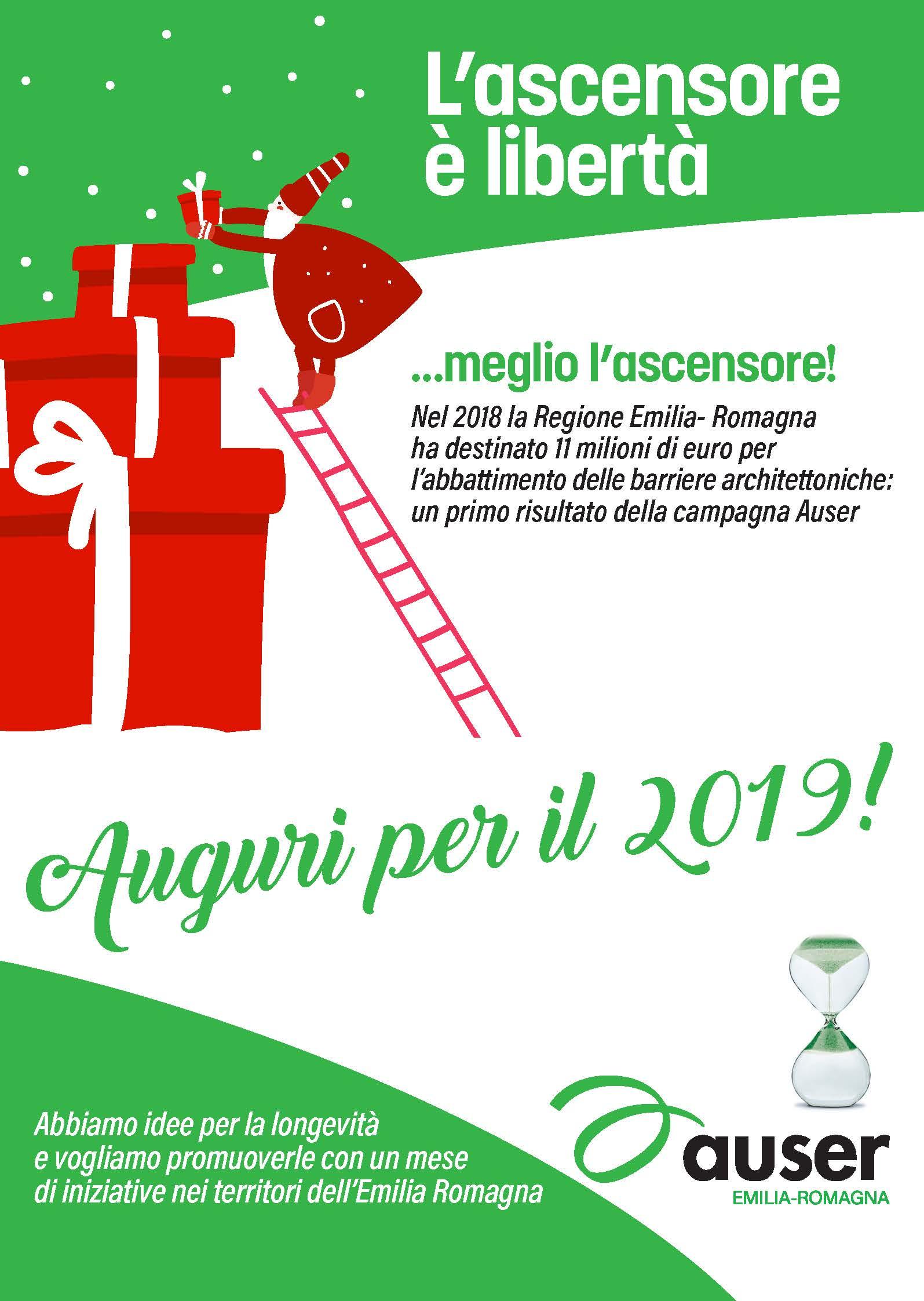 Gli auguri di Natale dall'Auser Emilia Romagna