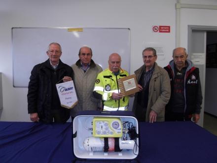Auser Parma dona un ventilatore polmonare alla Croce Gialla