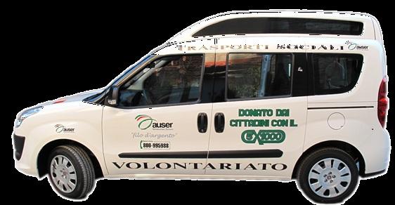 Auser Ferrara inaugura un nuovo mezzo per il trasporto sociale a Massa Fiscaglia