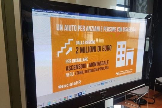 Ascensore è libertà: la regione Emilia Romagna promuove un bando di 2 milioni di euro