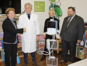 Da Auser Imola un dispositivo per la ossigenoterapia per la pediatria dell'ospedale locale