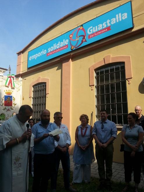 Inaugurato a Guastalla (RE) un nuovo Emporio Solidale