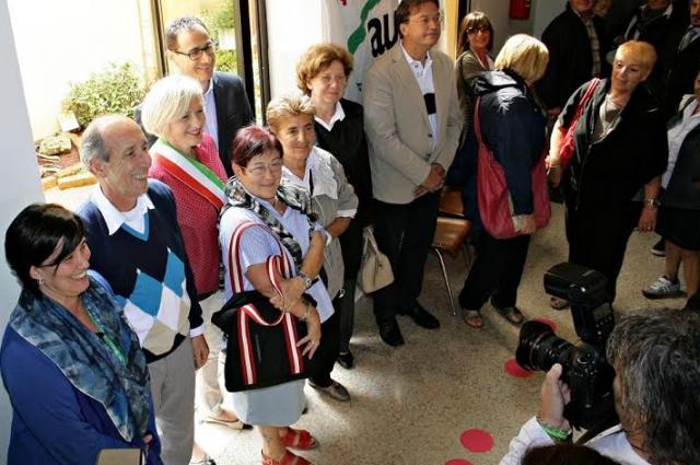 Inaugurato il Giardino della Salute donato da AUSER Imola sezione di Castel San Pietro T. e Osteria Grande