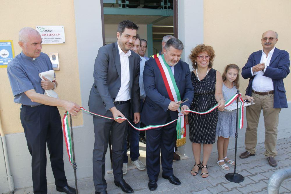 Inaugurata la nuova sede Auser a San Felice sul Panaro