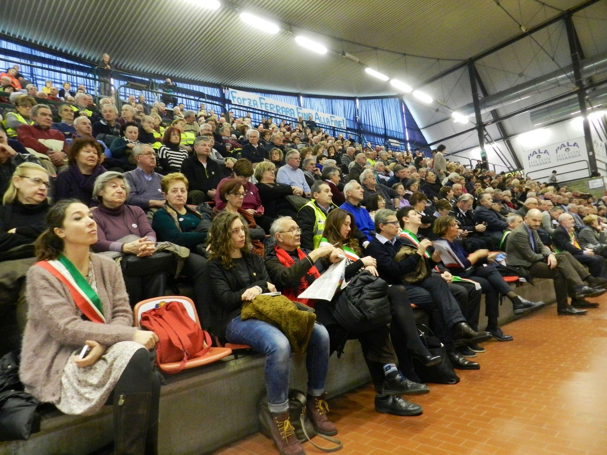 Buon compleanno Auser! Oltre 1000 volontari e tanti ospiti riuniti a Ferrara per i 25 anni dell'associazione!