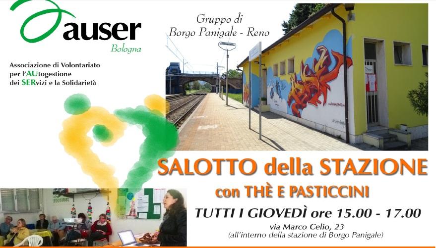 Torna il Salotto della Stazione, le conferenze con the e pasticcini di Auser Bologna
