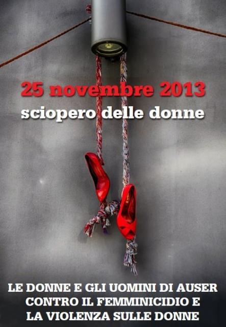 Giornata Internazionale contro la violenza alle donne. L'Auser si mobilita