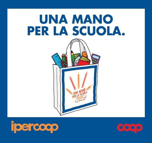 Una mano per la scuola. Auser Bologna invita i cittadini alla grande iniziativa di Coop per i bambini e le famiglie