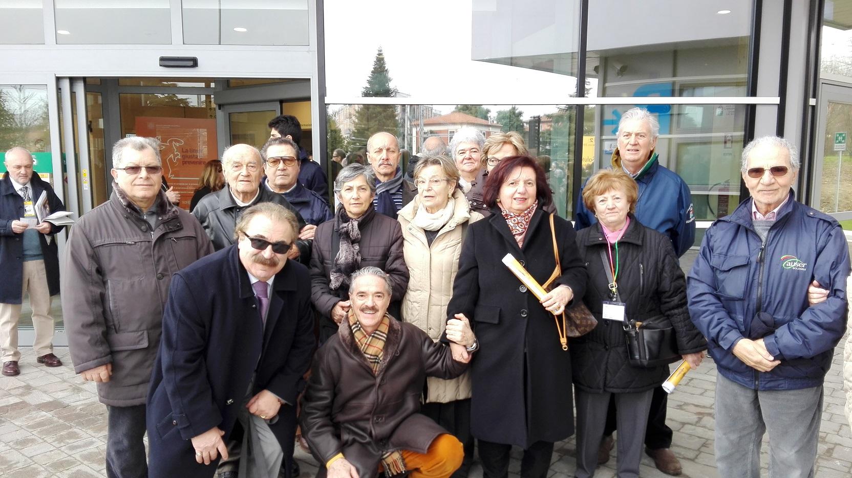 I volontari di Auser Bologna nella nuova Casa della salute di Casalecchio