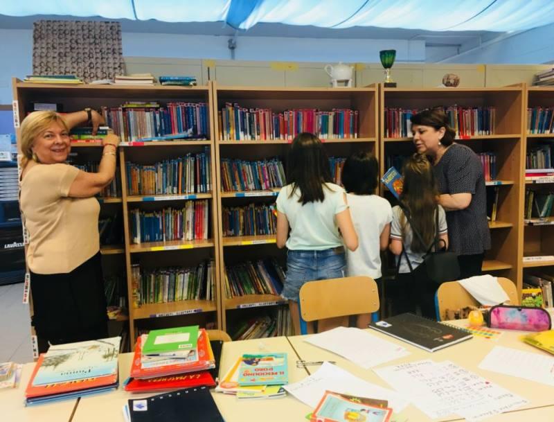 Un buon libro è come un amico: storia di una biblioteca scolastica