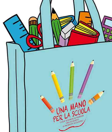 Una mano per la scuola: cercasi volontari per un giorno per la raccolta di materiale didattico per le famiglie in difficoltà