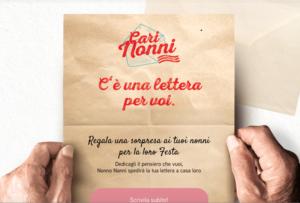 Per la Festa dei Nonni invia una lettera: Nonno Nanni aiuterà Auser
