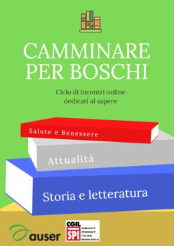 Camminare per i boschi: gli eventi culturali di Auser Provinciale Reggio Emilia